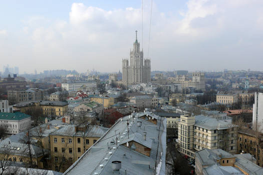 In the Center of Moscow