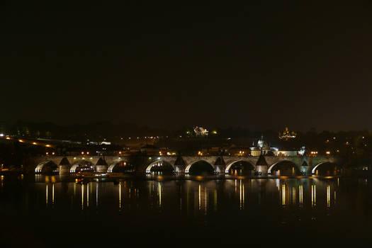 Charles Bridge at Night