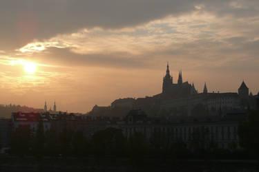 Prague at Sunset by AliusS