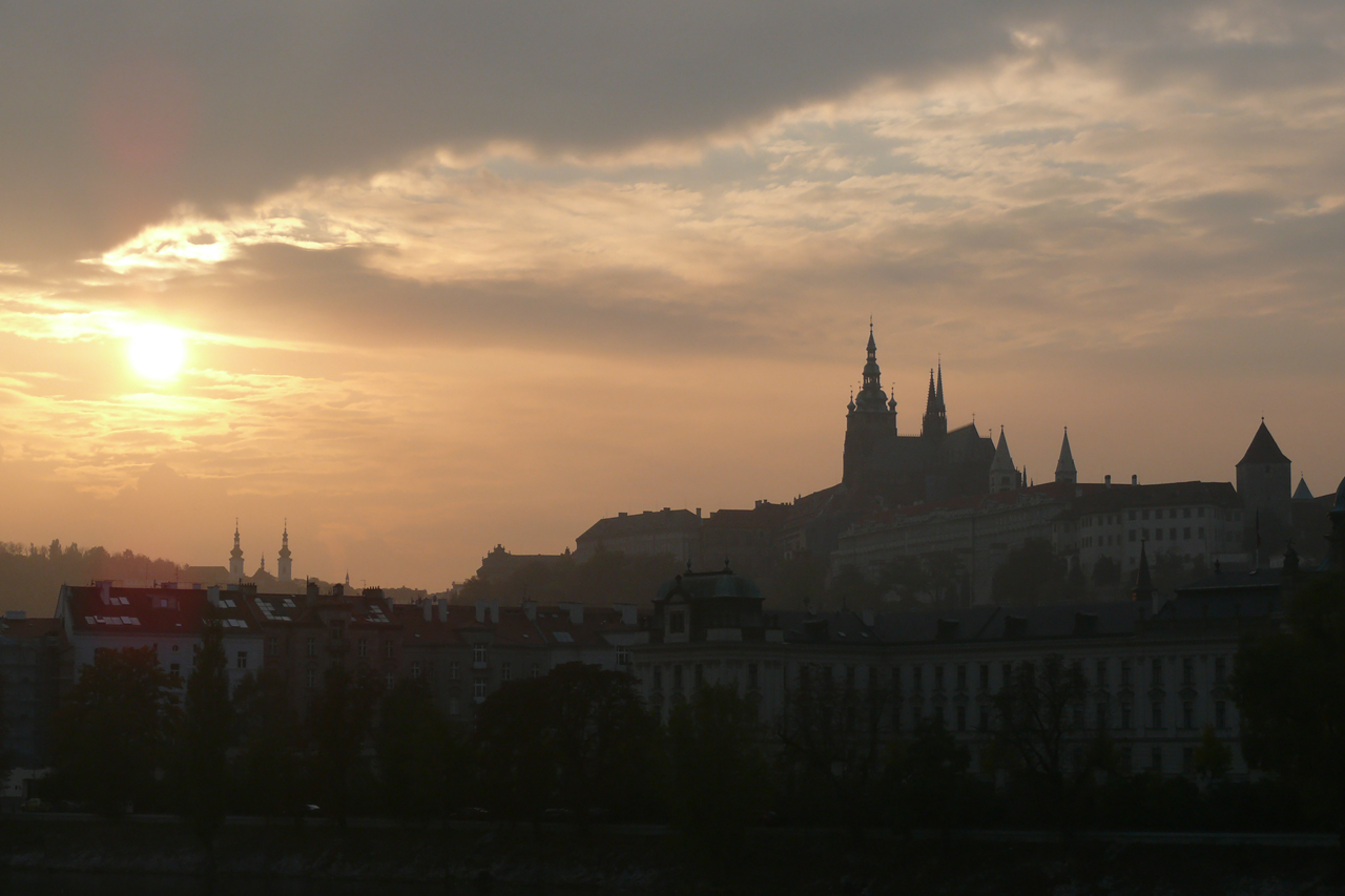 Prague at Sunset by AliusS