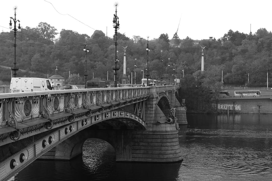 Bridge over Vltava by AliusS