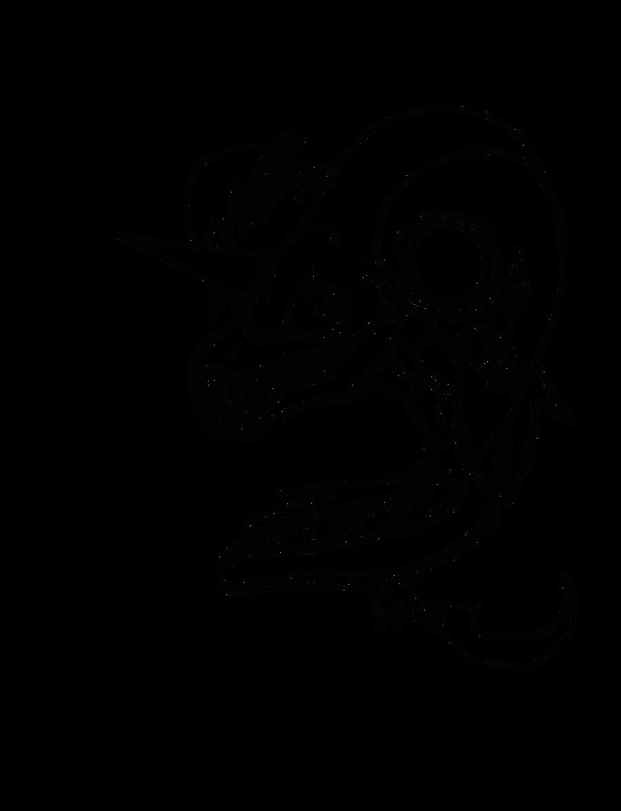 Line Drawing Unicorn : Line art unicorn viper sniper by darsywolf on deviantart