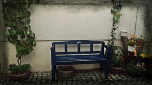 The Blue Bench by Zorodora
