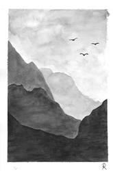 Misty Mountains by Zorodora