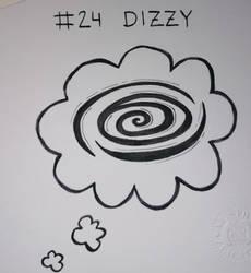 Inktober #24 - DIZZY