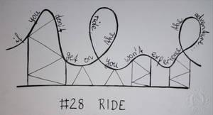 Inktober #28 - RIDE