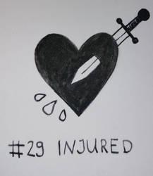 Inktober #29 - INJURED