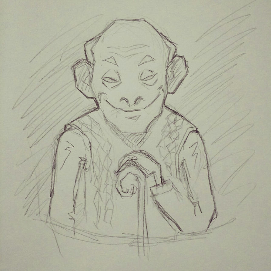 Old geezer by WildPirate