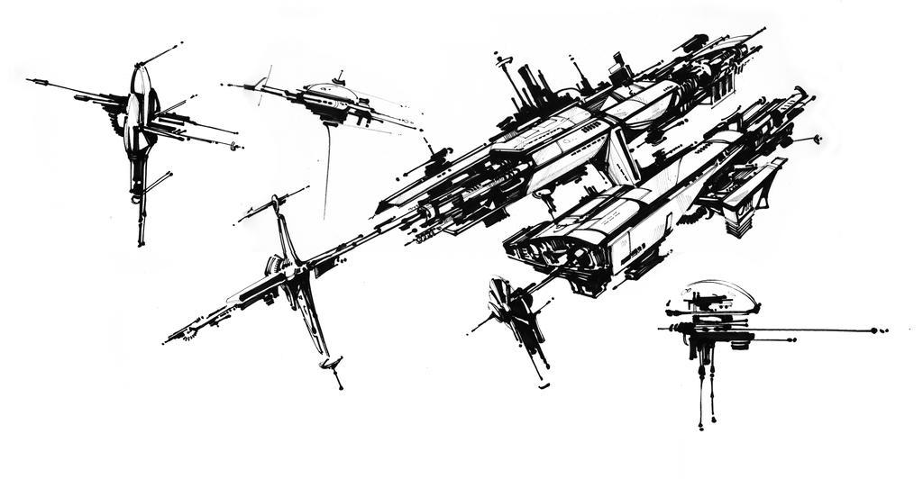 Space Craft by Eyth