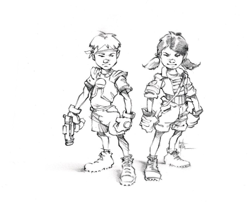 Kid Warriors by Eyth