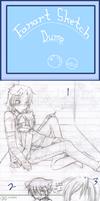 Fanart Sketch Dump - 1-3 by 1st-NeverKnowsBest