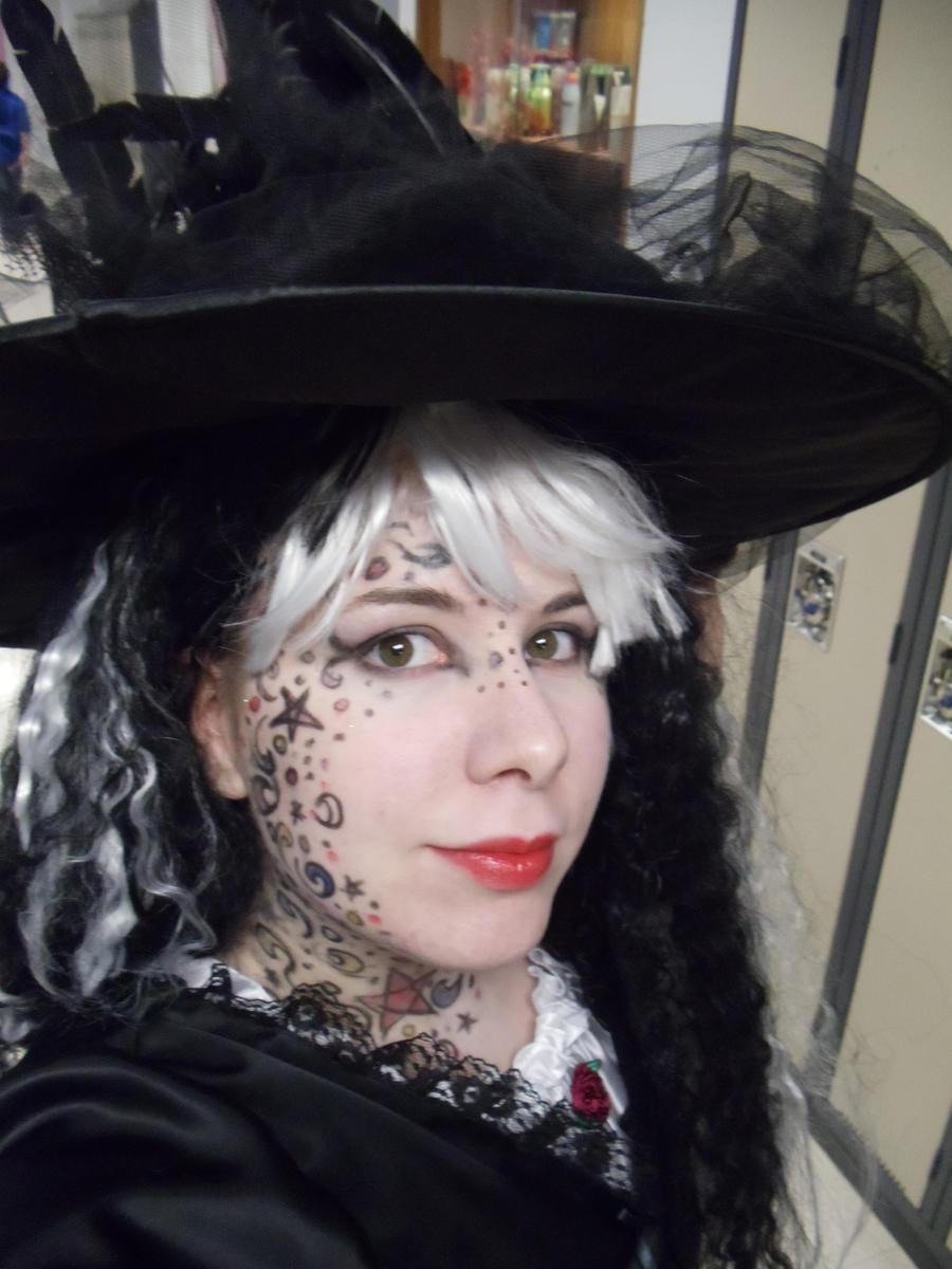 my witch halloween make-up by SaiyuriTachikowa on DeviantArt