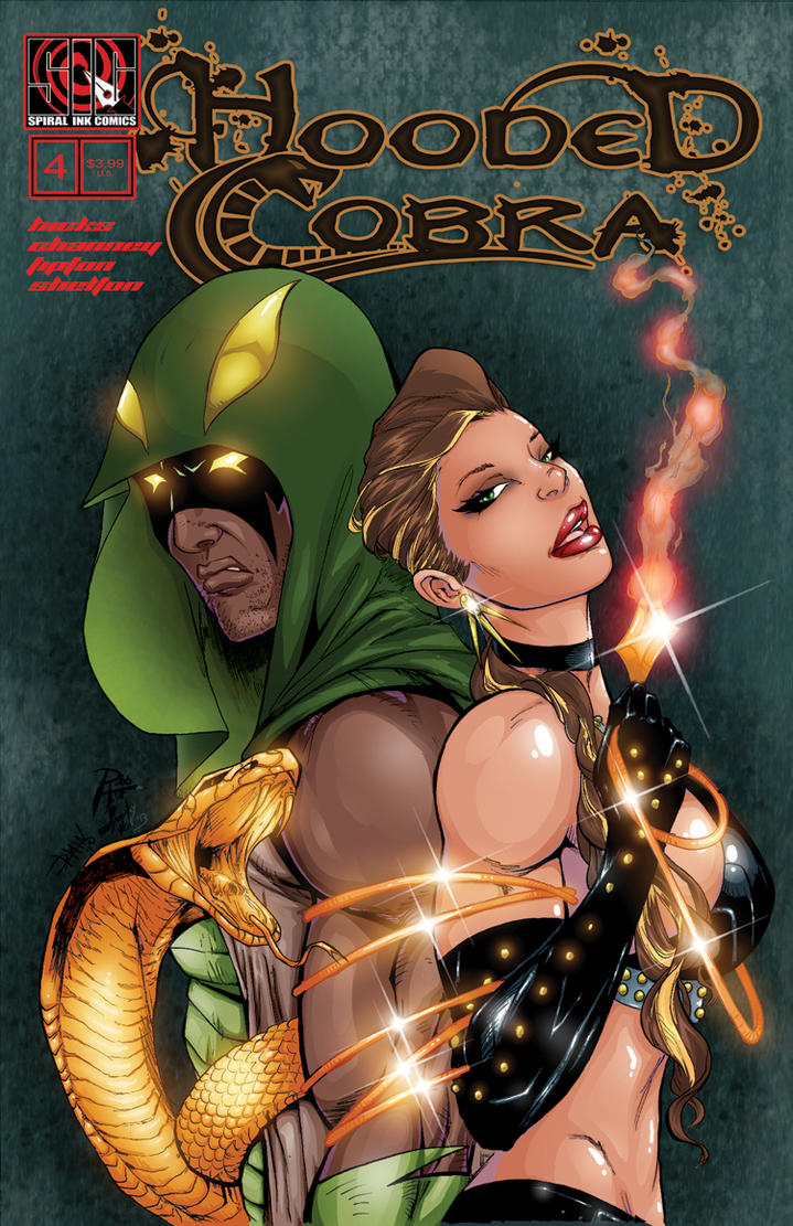HOODED COBRA: The Den Of Serpents #4 by rob-hix