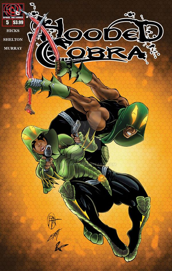 HOODED COBRA 5 Cover Art By Rob Hix