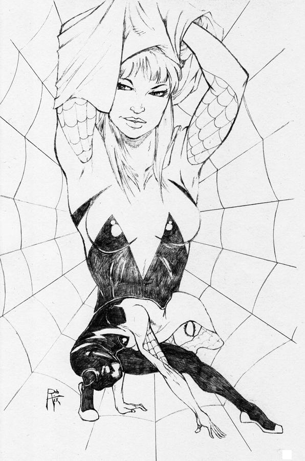 Spider-Gwen by rob-hix