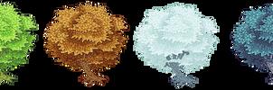 Seasonal Pixel Trees