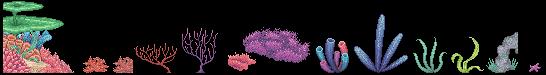 Coral Reef Sprites by twistedragon on DeviantArt