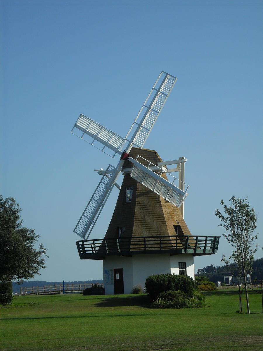 Old Fashioned Wind Turbine