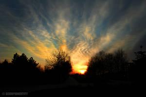 Spring Sunset 1 by ScorpionEntity
