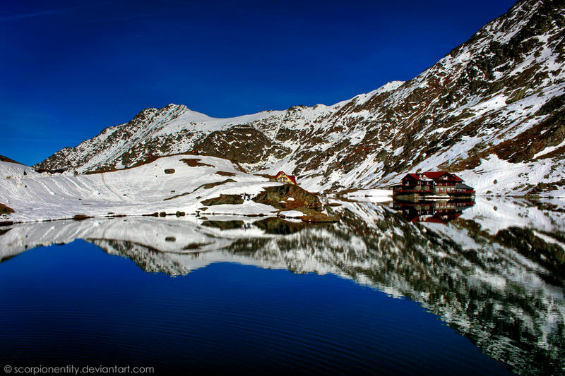 Balea Lake HDR 01 by ScorpionEntity