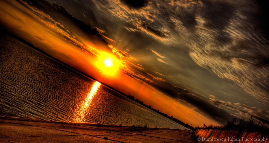 Sunset Delight HDR by ScorpionEntity