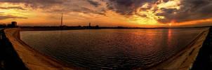 Sunset Panorama by ScorpionEntity