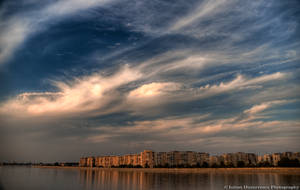 Clouds and stone by ScorpionEntity