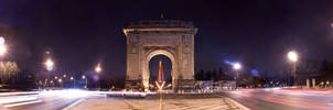 Triumphal Arch Panoramic