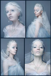 Queen of Ice - Collage