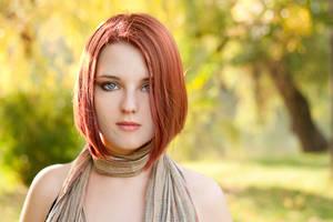 Miss Autumn by ScorpionEntity
