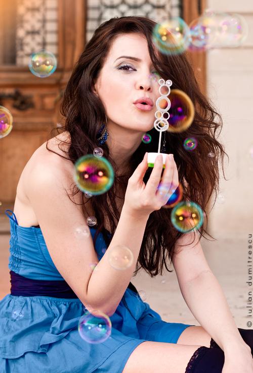 Bubble Girl by ScorpionEntity