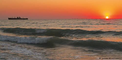 Boat trip to the sun by ScorpionEntity
