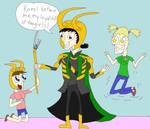 Loki and his Loyal Fangirls