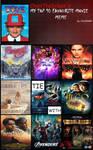 My Top 10 Favorite Movies (Meme)