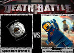 Death Battle Meme: Space Core vs. Benny