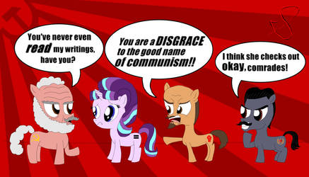 Starlight Glimmer and the Communists