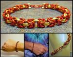 Iron Man Chainmaile Bracelet