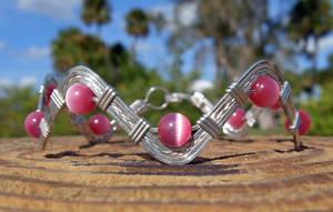 Think Pink - Sterling Bracelet by MajorTommy