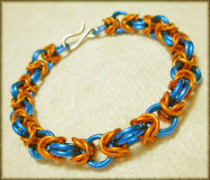 Go 'Phins Bysantine Bracelet by MajorTommy