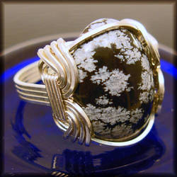 Silver Snowflake Ring