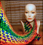 Rainbow Connection Scarf by MajorTommy