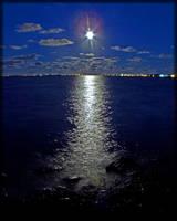Moon Over My Beach by MajorTommy