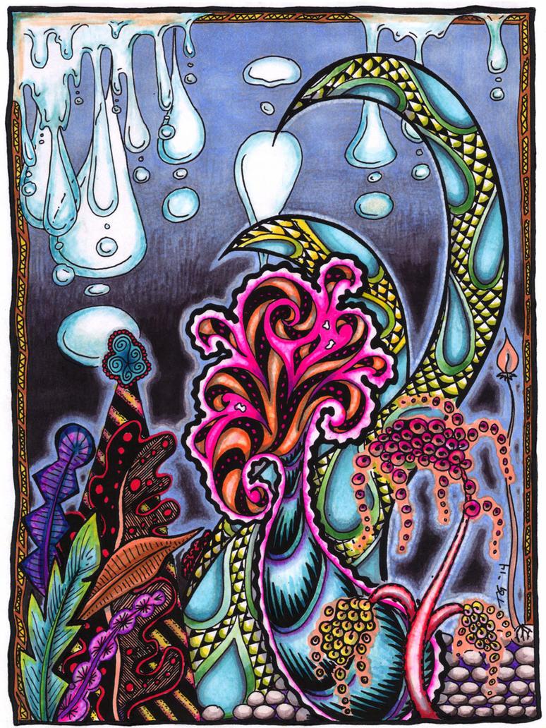 A Cephalopod's Garden by MajorTommy