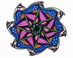 The Starfinch! A Zen Doodle Original. by MajorTommy