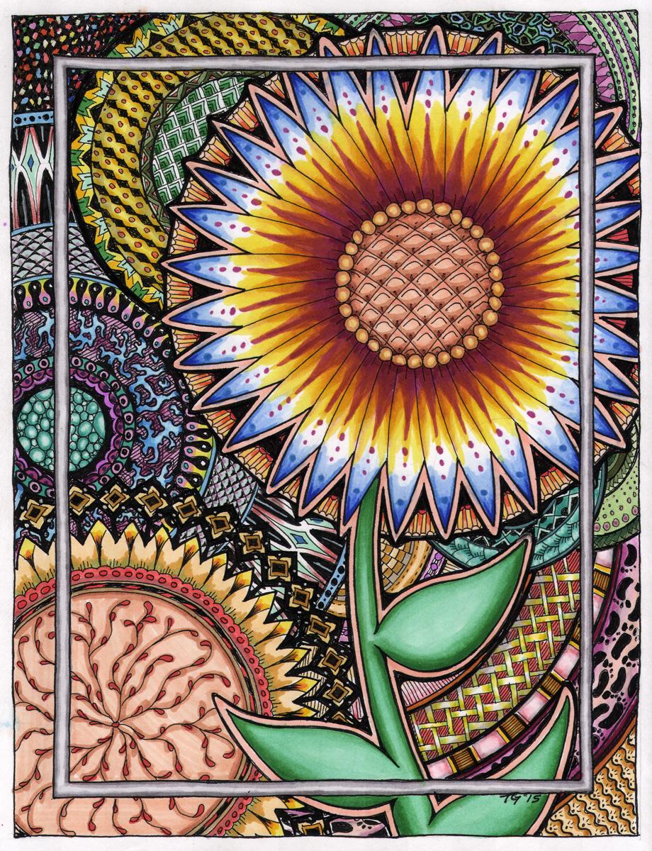 Zen Flower - Colored by MajorTommy