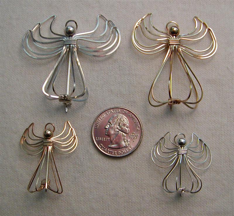 Angel Pins by MajorTommy
