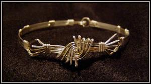Vortex Bracelet Silver by MajorTommy