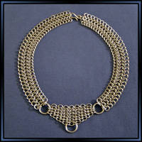 Chainmail Choker by MajorTommy