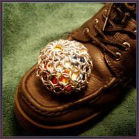Tye Dye Chainmail Foot Sack by MajorTommy