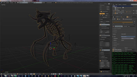 WIP Kleer Skeleton by lorceroth